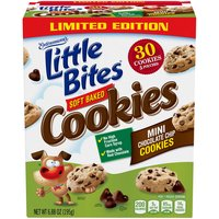 Entenmann's Little Bites Little Bites Mini Chocolate Chip Cookies, 6.88 Ounce