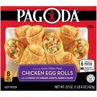 Pagoda White Chicken Rolls, 22 Ounce