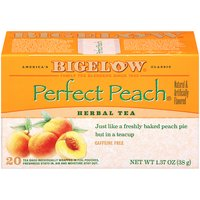 Bigelow Bigelow Herbal Tea Bags - Perfect Peach, 1.37 Ounce