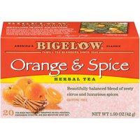 Bigelow Bigelow Herbal Tea Bags - Orange & Spice, 1.5 Ounce