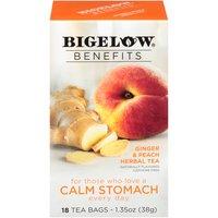 Bigelow Bigelow Benefits Ginger and Peach Herbal Tea, 1.35 Ounce
