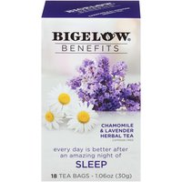 Bigelow Bigelow Benefits Chamomile and Lavender Herbal Tea, 1.06 Ounce