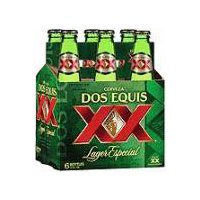 Dos Equis Lager Especial - 6 Pack Glass Bottles, 72 Fluid ounce