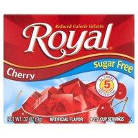 Royal Gelatin - Sugar Free - Cherry, 0.32 Ounce
