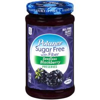 Polaner Polaner Seedless Blackberry Preserves with Fiber, 383 Gram