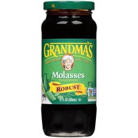 Grandma's Grandma's Unsulphured Robust Molasses, 12 Fluid ounce