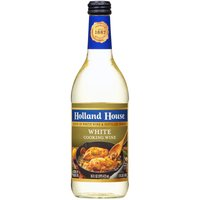 Holland House Cooking Wine - White, 16 Fluid ounce