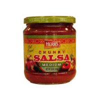 Herr's Chunky Salsa - Medium, 16 Ounce