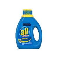 all Detergent Original with Stainlifters, 40 Fluid ounce
