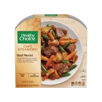 Healthy Choice Cafe Steamers Beef Merlot, 9.5 Ounce
