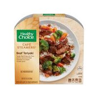 Healthy Choice Cafe Steamers Asian Beef Teriyaki, 9.5 Ounce