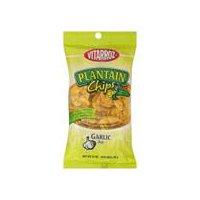Vitarroz Plantain Chips - Garlic, 3.5 Ounce