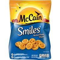 McCain McCain Smiles Mashed Potato Shapes, 22 Ounce