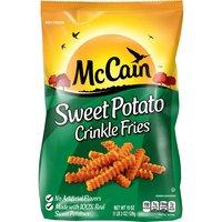 Frozen crinkle cut sweet potato fries.