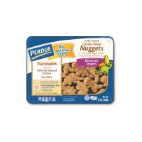 Fully cooked dinosaur shaped chicken nuggets. Made with only white meat chicken. No fillers. Keep refrigerated.