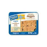 Fully cooked chicken nuggets. Made with only white meat chicken. No fillers. Keep refrigerated.