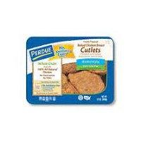 Perdue Whole Grain Breaded Chicken Breast Cutlets, 12 Ounce