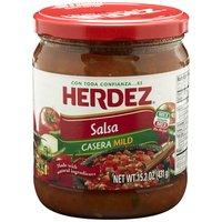 Herdez Salsa - Casera Mild, 15.2 Ounce