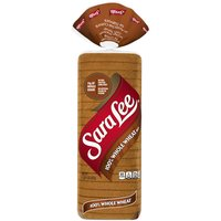 Sara Lee 100% Whole Wheat Bread, Made with Whole Grains, 20 Ounce