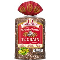 Arnold Whole Grains 12 Grain Bread, 24 Ounce