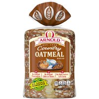 Wholesome oatmeal gives this bread a hearty texture and flavor: perfect for a filling sandwich.