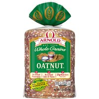 Arnold Oatnut bread is filled with a delicious blend of oats, sunflower seeds and real hazelnuts giving you a rich, nutritional flavor.