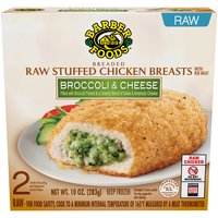 Breaded boneless with rib meat. Keep frozen. Microwavable.
