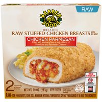 Barber Foods Chicken Breasts - Stuffed Chicken Parmesan, 10 Ounce