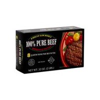Philly-Gourmet Beef Patties - Quarter Pound 100% Pure, 32 Ounce