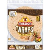 Mission Multi-Grain Plus! Wraps, 15 Ounce