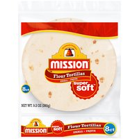 Mission Small Fajita Flour Tortillas, 1 Each