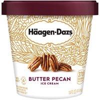 Haagen-Dazs Ice Cream - Butter Pecan, 14 Fluid ounce