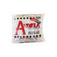 Andrea Large Round Cheese Ravioli, 13 Ounce