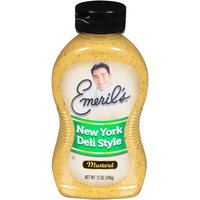 Emeril's New York Deli Style Mustard, 12 Ounce