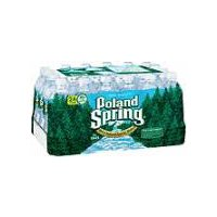 Poland Spring 100% Natural Spring Water, 405.77 Fluid ounce