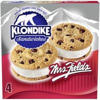 Klondike Mrs Fields Ice Cream Sandwiches, 16 Fluid ounce