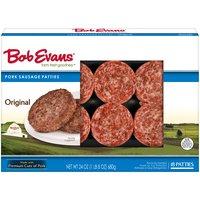 Bob Evans Pork Sausage Patties - Original, 1.5 Ounce