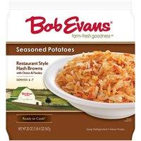 Bob Evans Shredded Potatoes - Seasoned Hash Browns, 20 Ounce