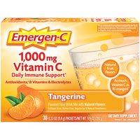 Emergen-C Dietary Supplement in Tangerine Flavor, 9.9 Ounce