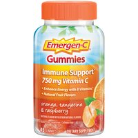 Emergen-C Emergen-C Immune Support 500mg Vitamin C Gummies, 45 Each