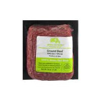 Grass Run Farms Grass Run Farms 100% Grass Fed Domestic 85% Lean Ground Beef Brick, 16 Ounce