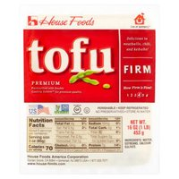 Alber & Leff Co House Firm Tofu, 16 Ounce