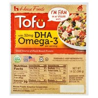 House foods House foods Organic Tofu - Firm with DHA Omega 3, 14 Ounce