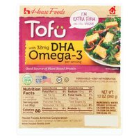 House foods House foods Organic Tofu - Extra Firm with DHA Omega 3, 14 Ounce