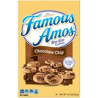 Famous Amos Cookies - Chocolate Chip, 12.4 Ounce