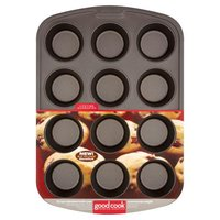 Good Cook Muffin Pan - 12 Cup, 1 Each