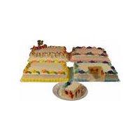 DUTCH MAID BAKERY QUARTER SHEET STRAWBERRY FILLED CAKE, 74 Ounce