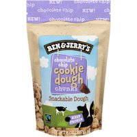 Ben & Jerry's Chocolate Chip Cookie Dough Chunks, 8 Ounce