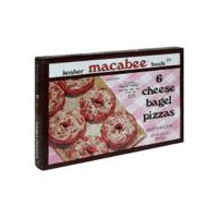 Macabee Kosher Foods Macabee Kosher Foods Bagel Pizzas - Cheese, 12.5 Ounce