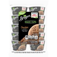 Breyers Chocolate Ice Cream Snack Cups - 10 Count, 3 Ounce